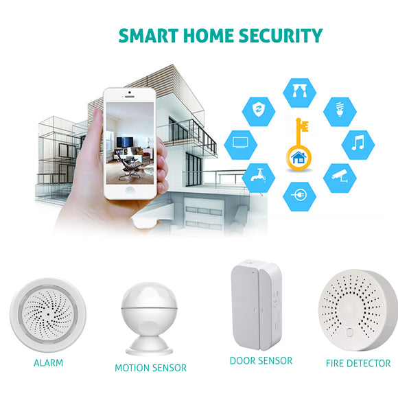 DigitalHome Smart Security alarm system (burglar & fire alarm) - digitalhome philippines