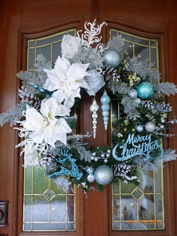 Christmas Wreaths, Door Swags & Tree Toppers & Decor