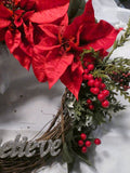 Christmas Wreath - Christmas Decor - Christmas Wreaths - Holiday Door Decor - Christmas decorations - Julie Butler Creations