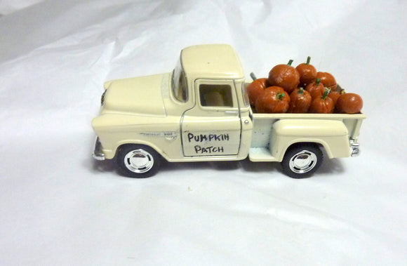 Farmhouse Truck - Diecast truck decor - Truck with pumpkins - Julie Butler Creations
