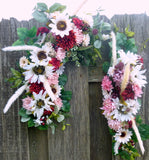 Fall Wedding Arch - Wedding Arbor Swag - Wedding Arch Decorations - Fall Wedding - Julie Butler Creations