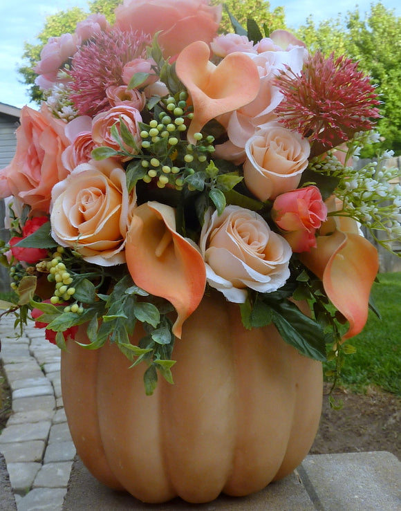Fall centerpiece, Fall wedding centerpiece, Thanksgiving decorations - Julie Butler Creations