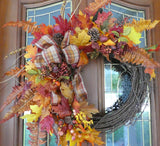 Wreaths for Fall - Autumn Wreath - Fall wreath - Fall decorations - Thanksgiving wreath