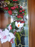 Country Christmas Wreath - Buffalo plaid wreath - Christmas Wreaths - Julie Butler Creations
