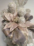 Ribbon Tree topper - Ribbon topper - Tree decorations - Bow Tree Topper