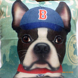 Boston Baseball Pillow covers - Dog Breed cover -dog pillow covers - Julie Butler Creations