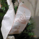 Ribbon Tree topper - Ribbon topper - Tree decorations -Traditional toppers - Copper and Ivory - Julie Butler Creations