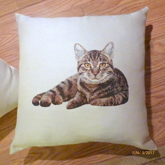Floor pillows - Pillow cover - Extra Large floor pillows - Cat pillow covers - pillow covers - Julie Butler Creations