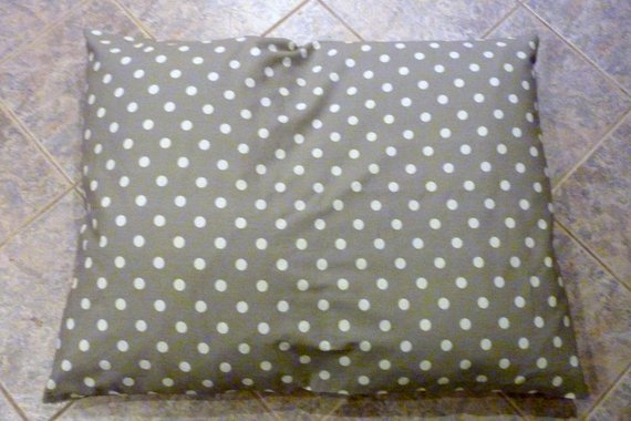 Custom Pet Bed Cover - Personalized dog bed - Embroidered Dog Bed - Dog Bed - Julie Butler Creations