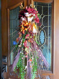Fall Door Swag - Fall Wreath -Thanksgiving decor - Door decor - fall door swag