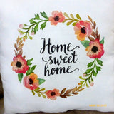 Home Sweet Home pillow - Wedding gift - Accent Pillow - Pillows - Housewarming gift - Julie Butler Creations