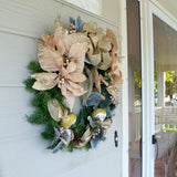 Christmas Wreaths - Christmas Decorations - Holiday Wreaths - Holiday Door Decor - Julie Butler Creations