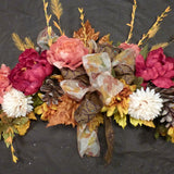 Fall swag - Wedding Arch Decorations - Floral swag- Wedding decorations - Fall Wedding flowers - Julie Butler Creations