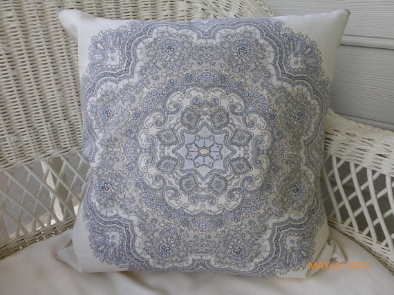 Pillow Cover - Designer Fabric throw pillow - Decorative pillow cover - Julie Butler Creations