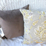 Chocolate Brown Velvet pillow cover - Pillow Covers - velvet pillow - Velvet upholstery Fabric - Julie Butler Creations