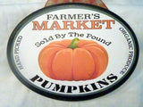 Pumpkin sign - wood plaques for Fall - Thanksgiving decorations - Farmhouse decor - Julie Butler Creations