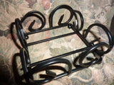 Curved iron coaster rack - Coaster Stand - Coaster holders - Coasters - Julie Butler Creations