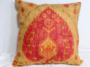 Linen Pillow Cover - Richloom Fabric - accent pillows - throw pillow cover - Fall Pillows - Julie Butler Creations