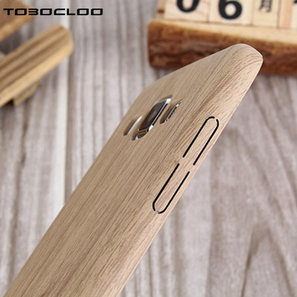 Wood Bamboo Phone Case For Samsung