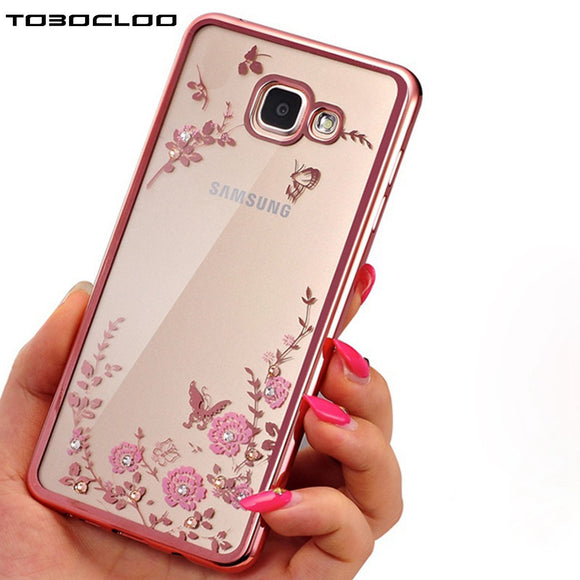 Clear Samsung Flower Cover & Phone Case