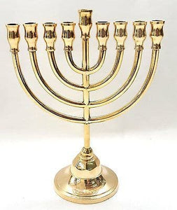 Authentic Temple Menorah HANUKKAH Gold Plated Candle Holder Israel  sc 1 st  SpringNahal & Authentic Temple Menorah HANUKKAH Gold Plated Candle Holder Israel ...