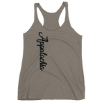 Women's Appalachia Text Racerback Tank