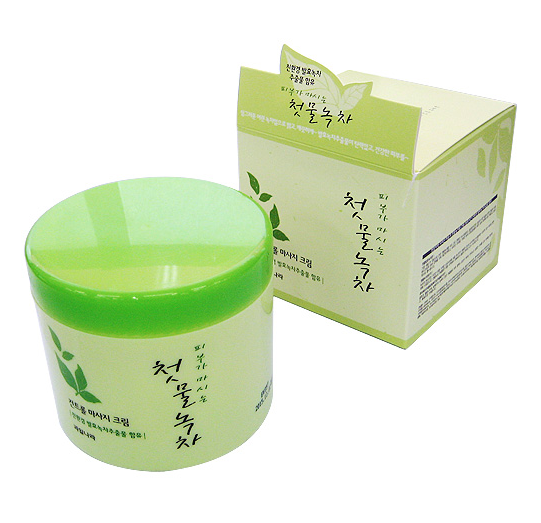 Green Tea Control Massage Cream