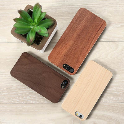 Natural Wood Cover - iPhone 5, 6 & 7