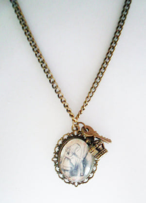 Alice in 1865 Vintage Charm Necklace