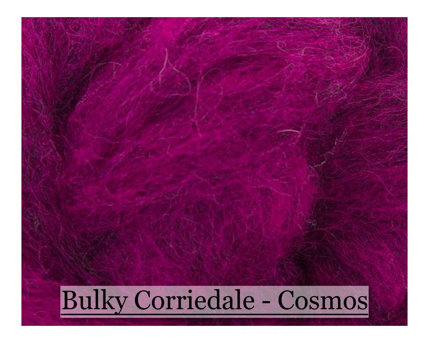 Sunflower - Bulky Corriedale Wool - 16oz