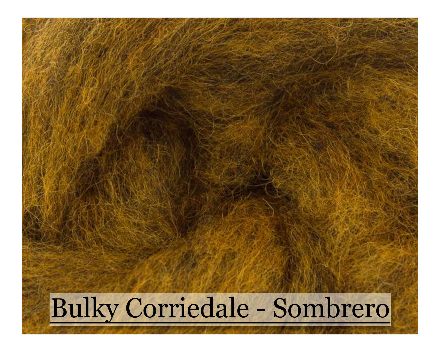 Sunflower - Bulky Corriedale Wool