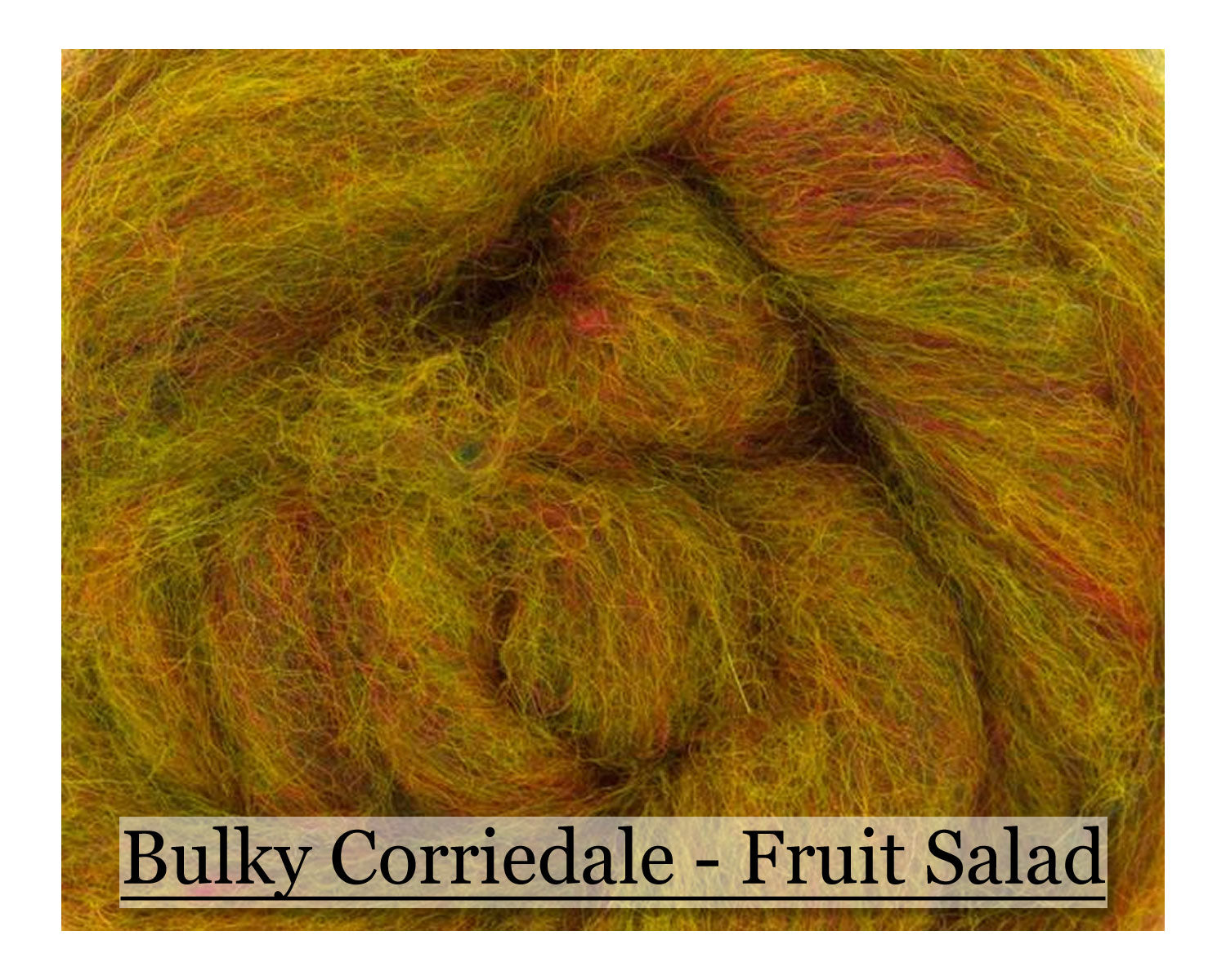 Lemon Lime - Corriedale Wool