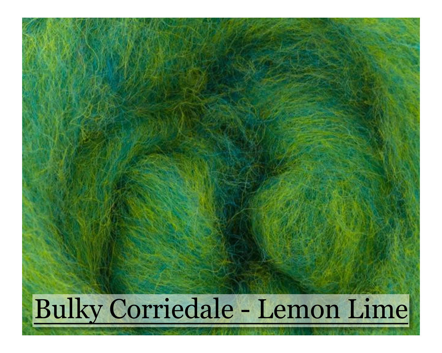 Fruit Salad - Corriedale Wool - 16oz