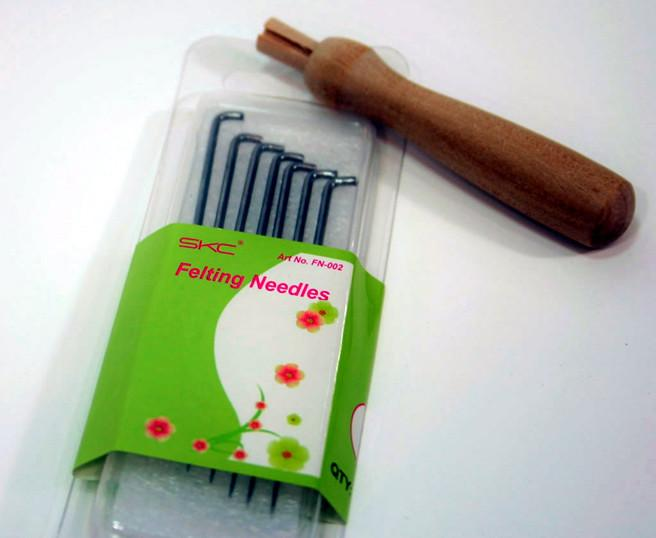 Felting Needles and Holder