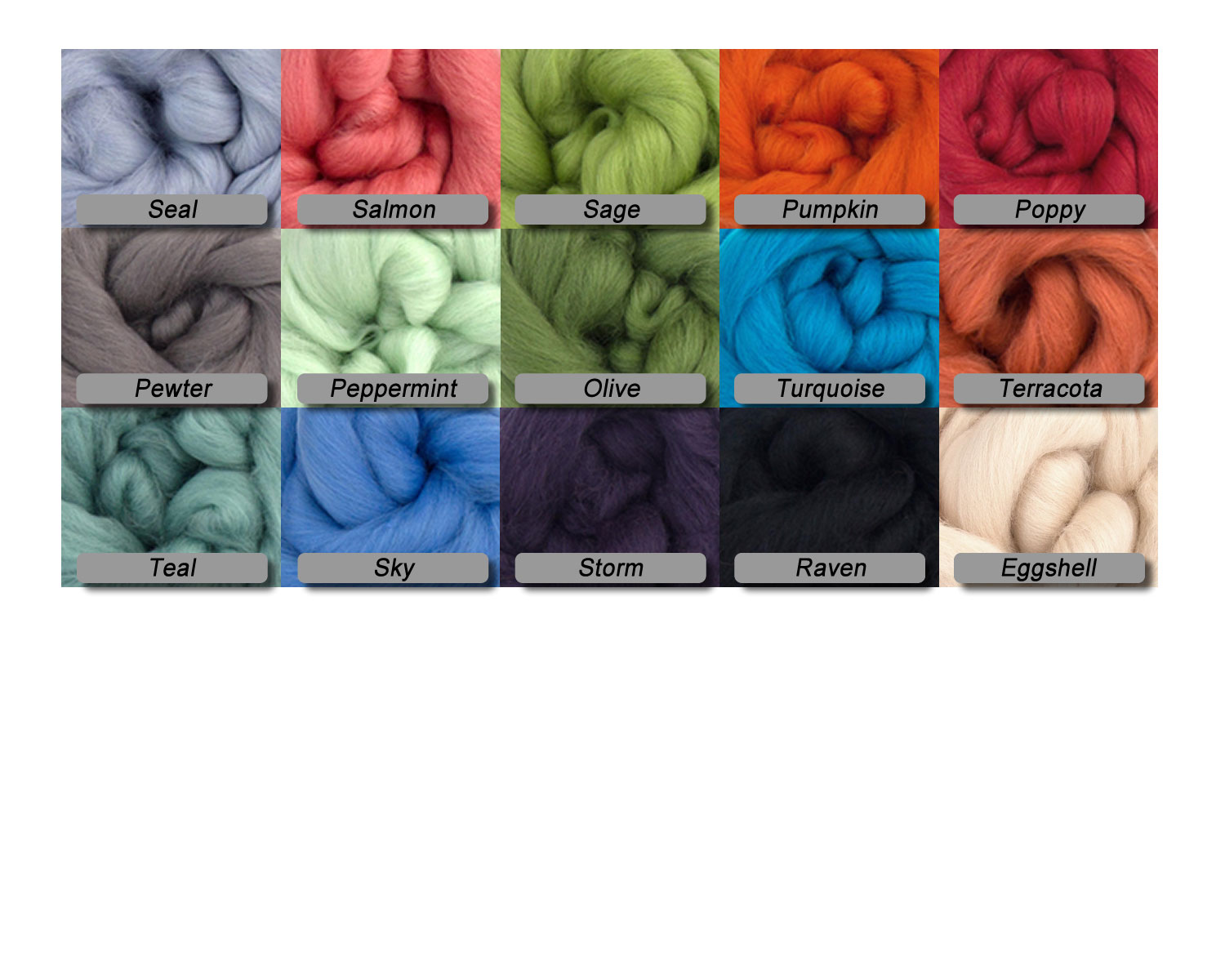 Peppermint -  Merino Wool Top - 23 Micron