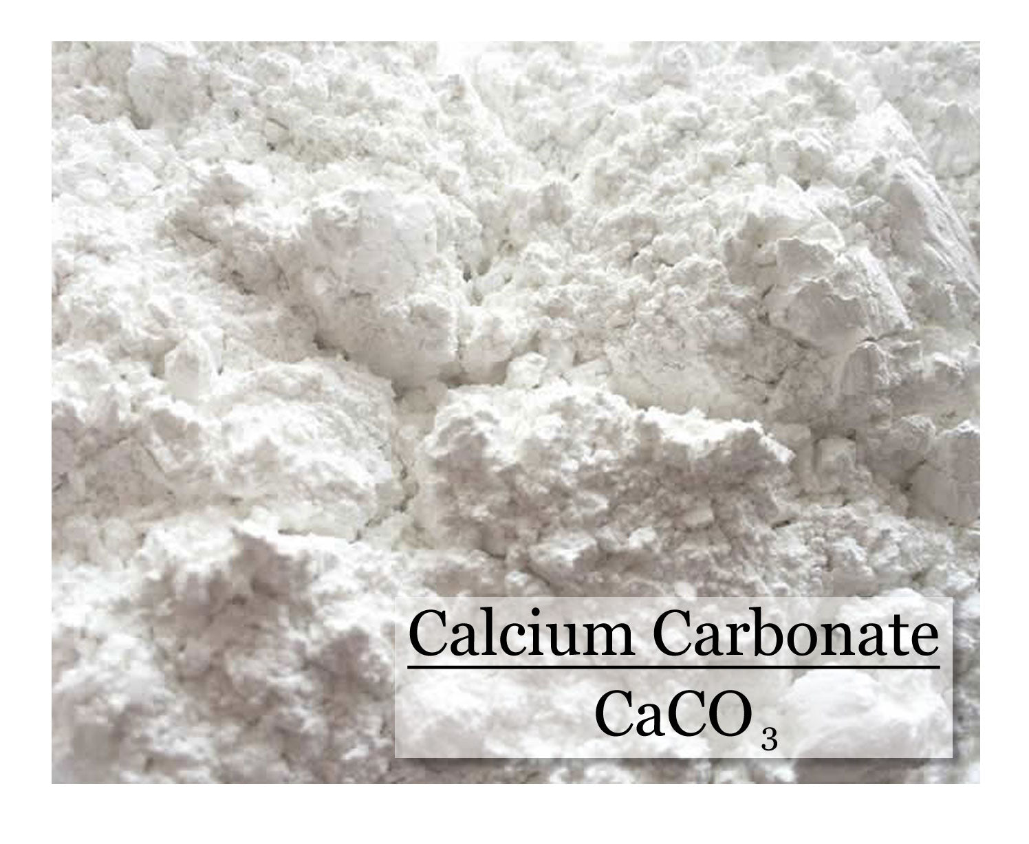 Calcium Carbonate - Chalk - 8 oz