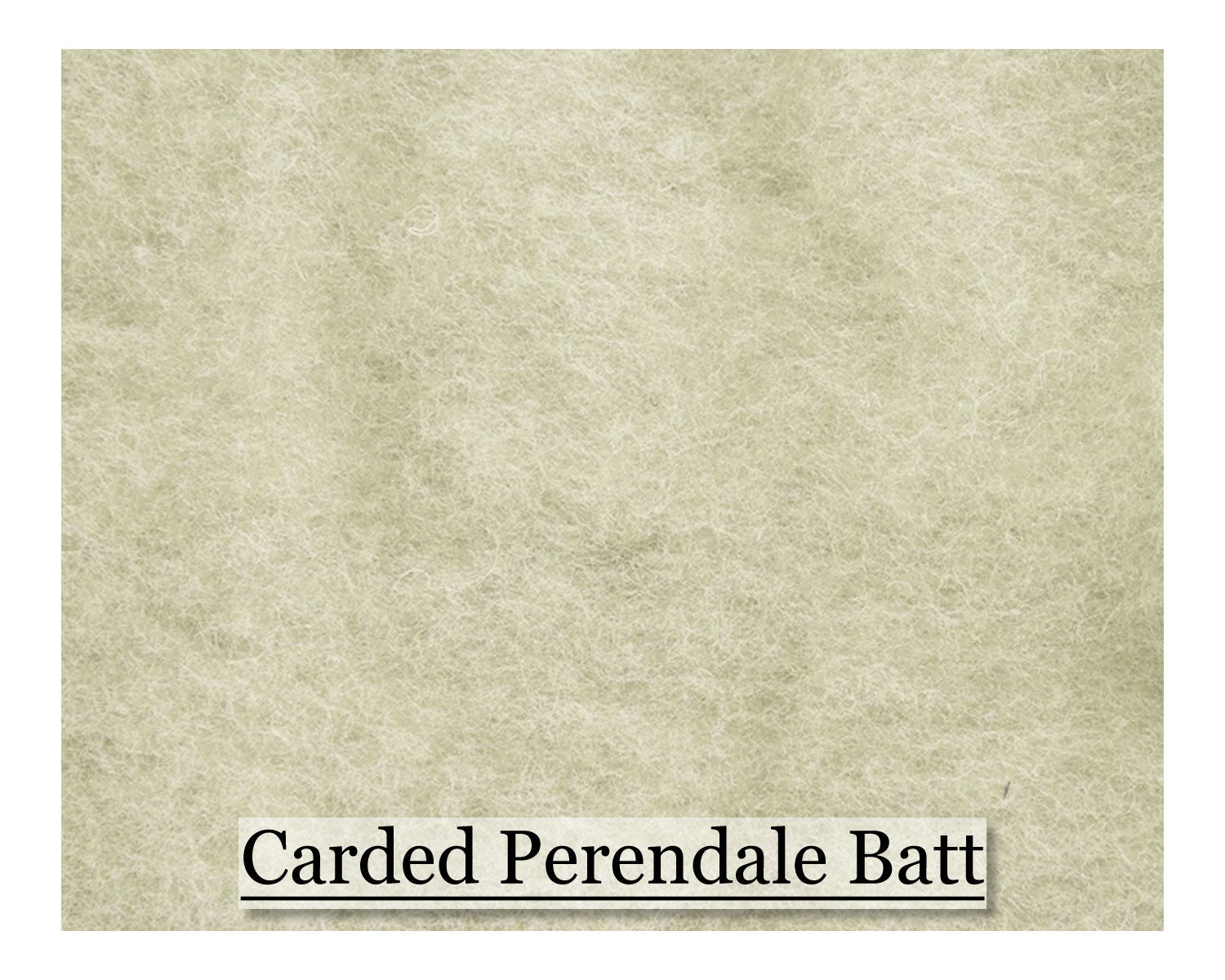Perendale Batt - Natural White - 200 grams