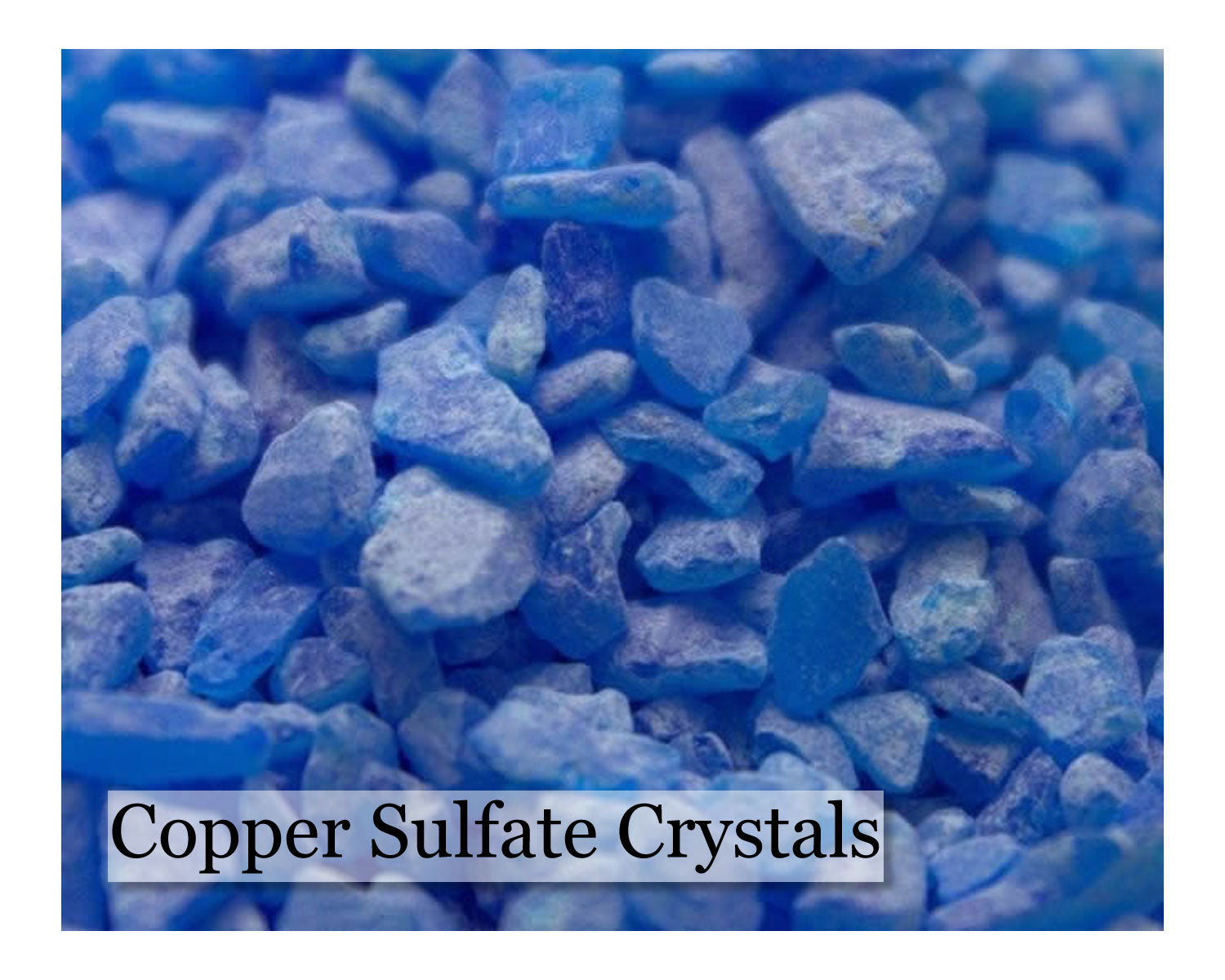 Copper Sulfate Crystals - 16 oz - Wholesale