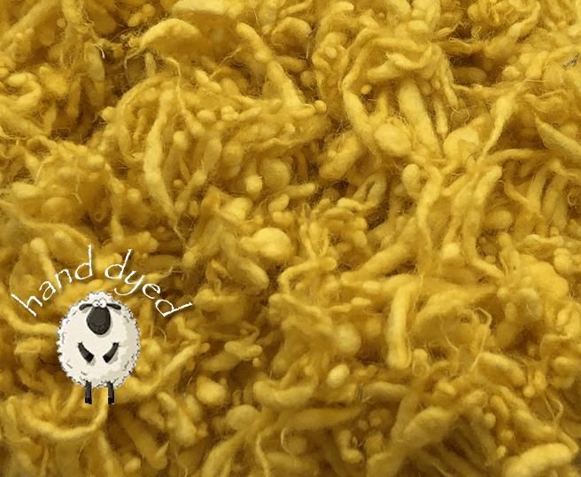 Duckling - Wool Slubs - Hand Dyed- 1 Ounce