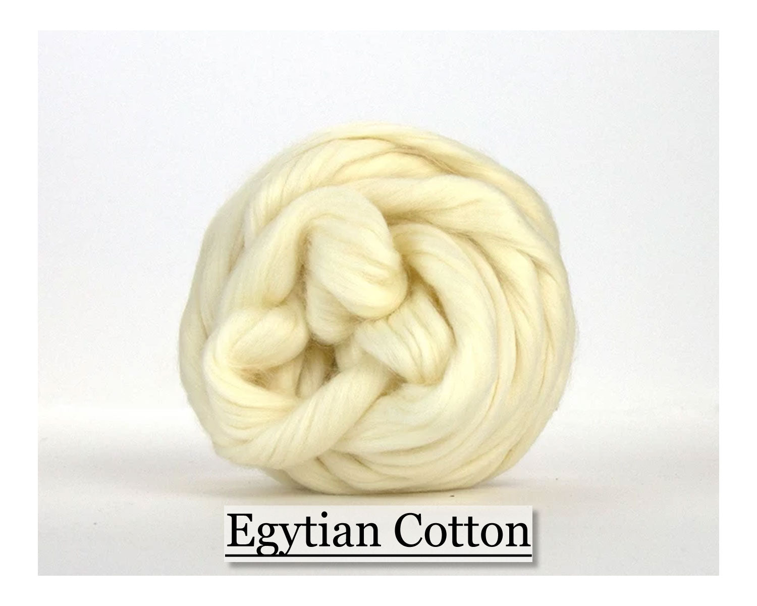 White Egyptian Cotton Top - 1, 2 or 4 oz