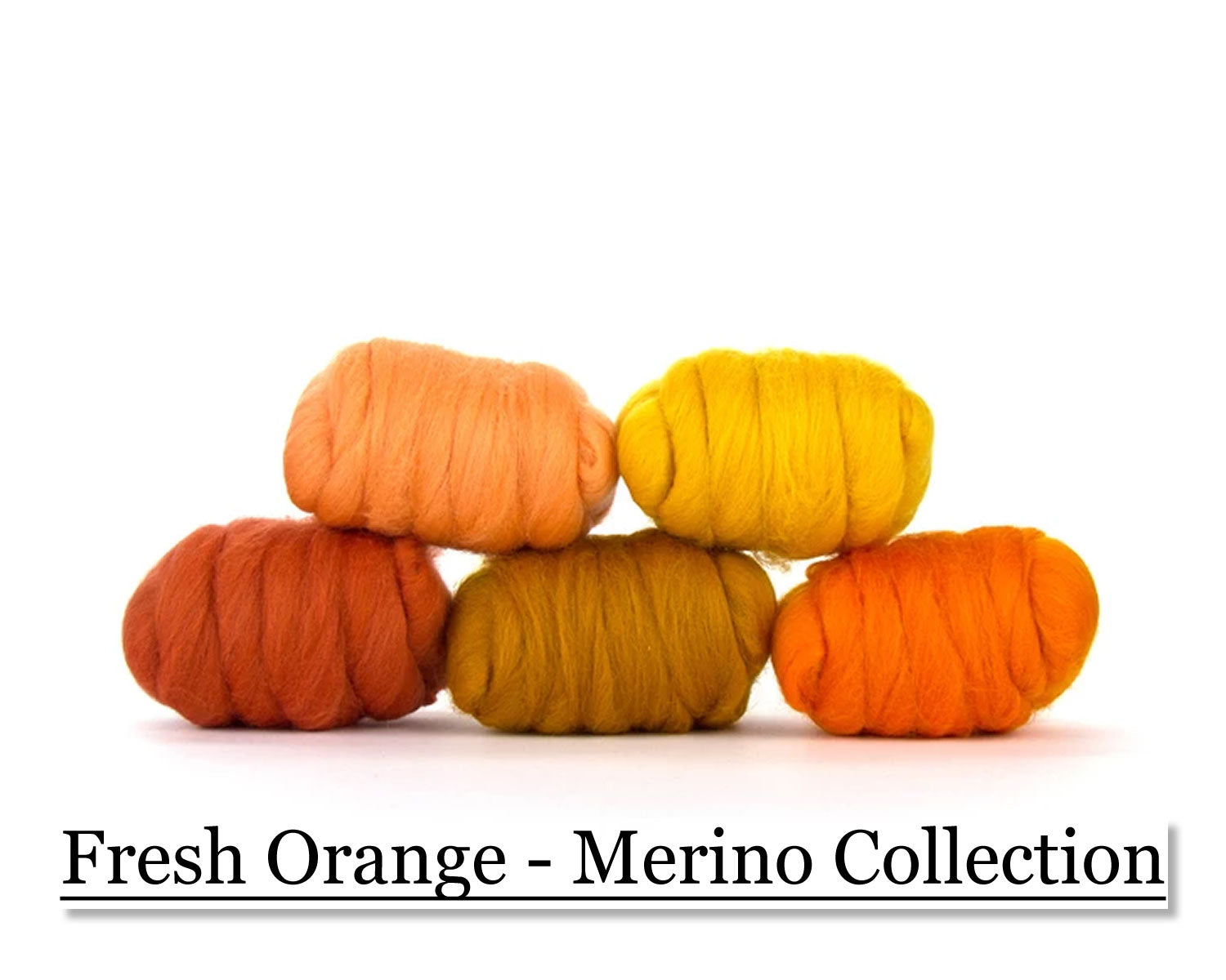 Fresh Orange Merino Collection