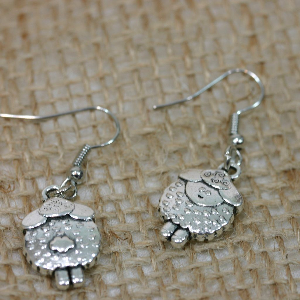 Sheep Earrings