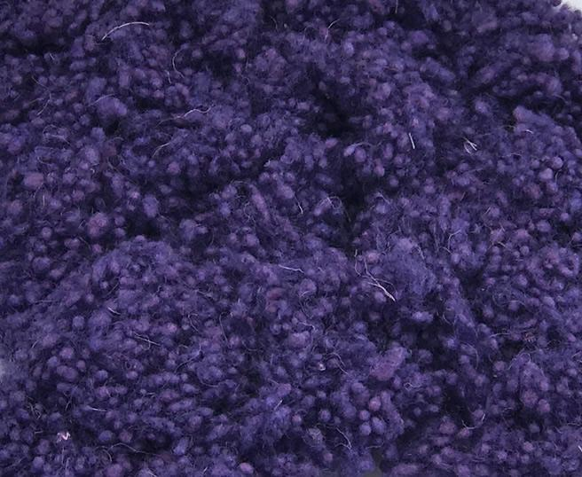 Hand Dyed Wool Nepps - Lilac
