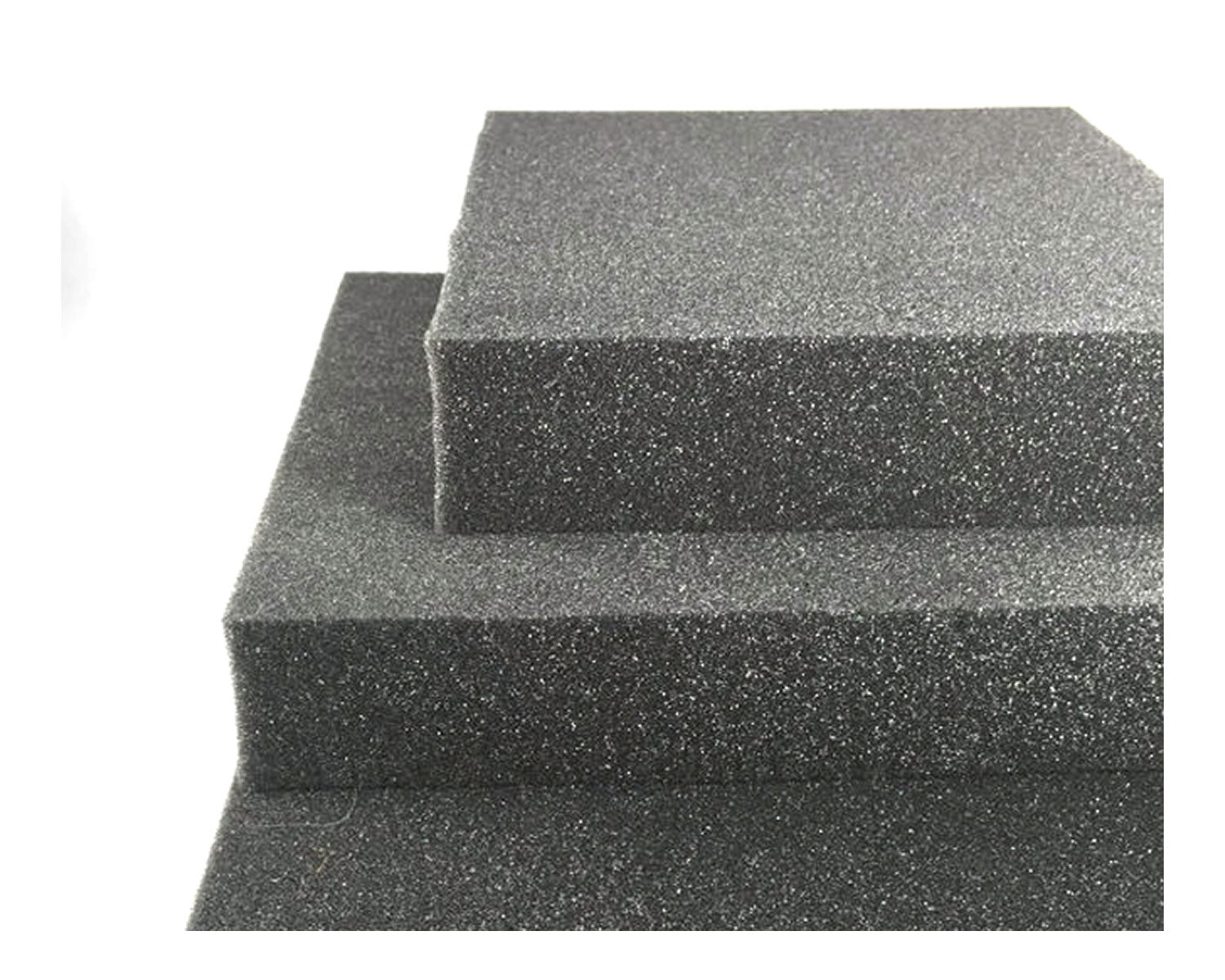 "6"" x 6"" High quality dense charcoal foam felting pad - 8 Pack"