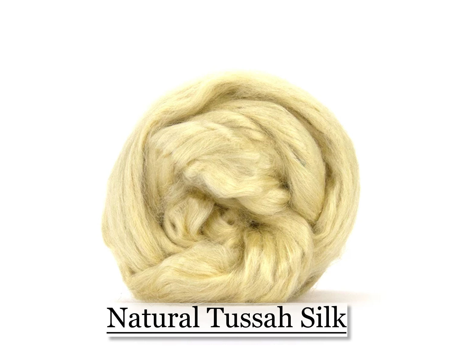 Natural Tussah Silk - 16oz