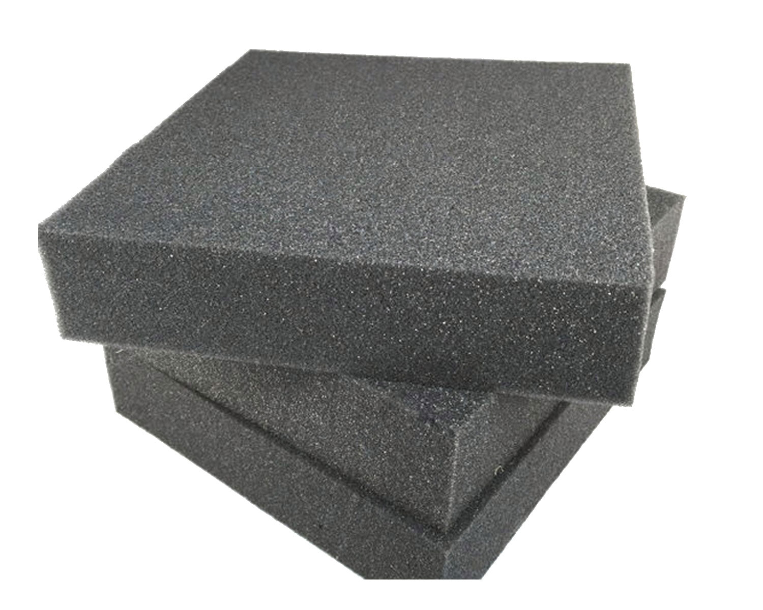 "5"" x 5"" High quality dense charcoal foam felting pad - 10 Pack"