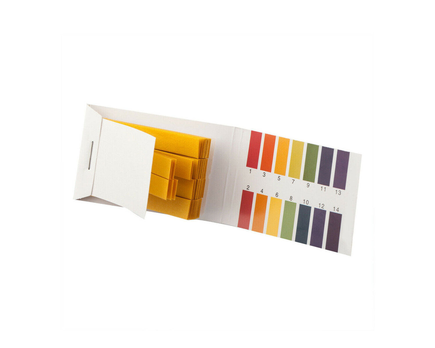 Paper pH Test Strips, Universal Test Paper(pH 1~14), 80 strips
