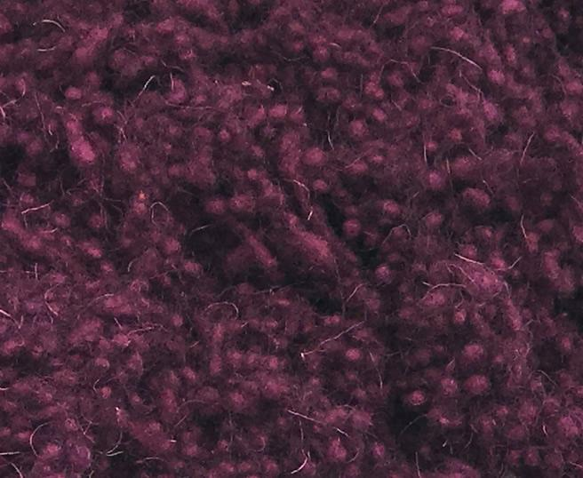 Hand Dyed Wool Nepps - Plum Dandy