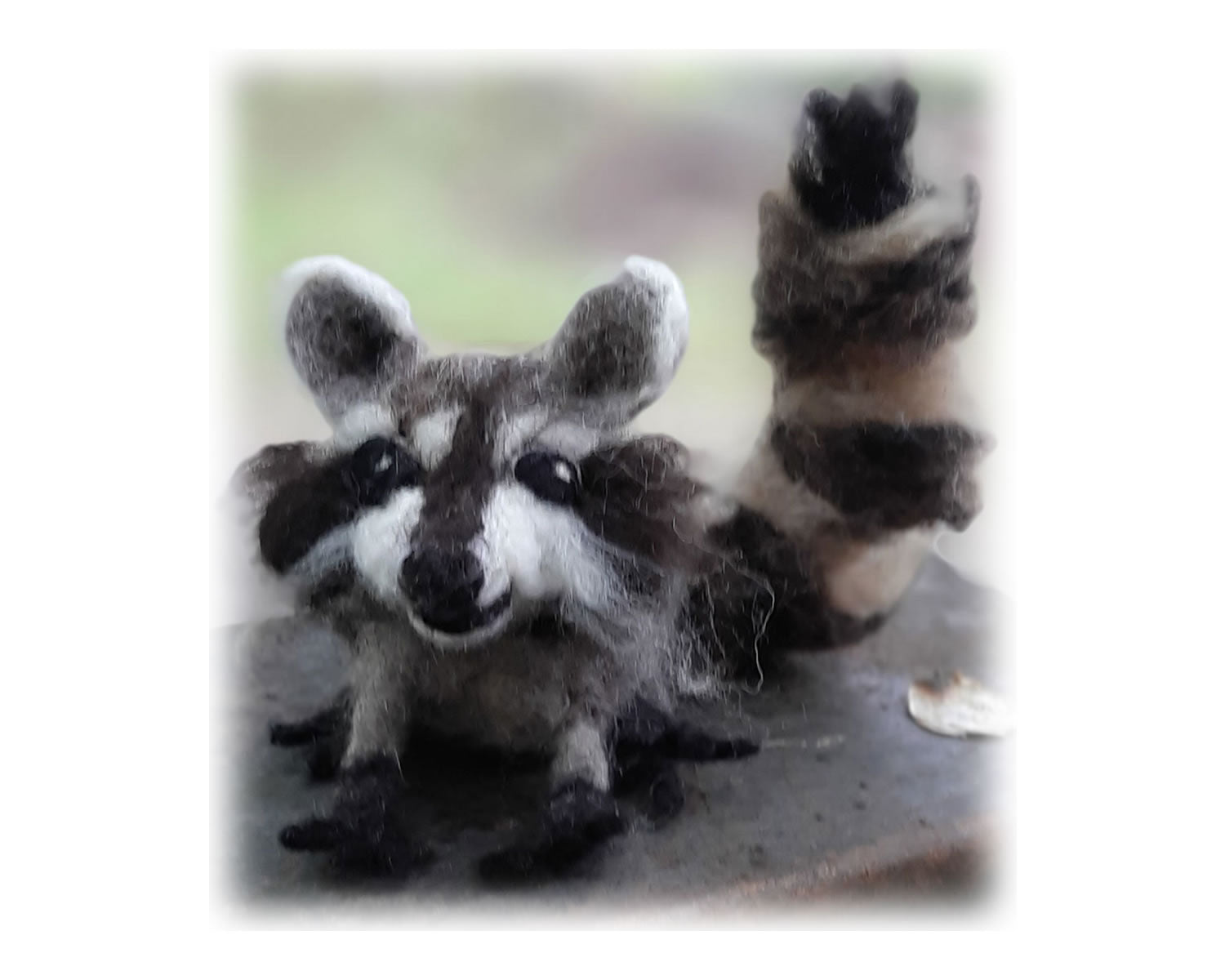 Raccoon Needle Felting Kit
