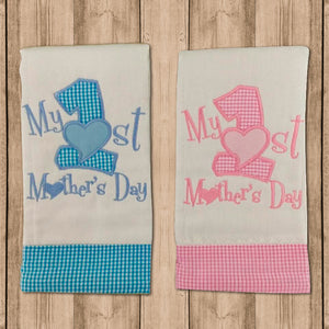 "Pañito de Bebe ""1st Mother Day"""